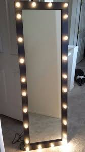 full length lighted vanity mirror by