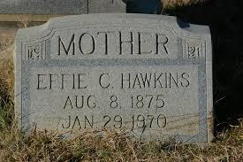 Effie Casey Hawkins (1875-1970) - Find A Grave Memorial