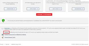 hdfc netbanking registration and login