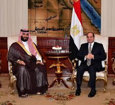 غضب وتساؤلات لماذا غاب علم السعودية في استقبال السيسي لبن سلمان