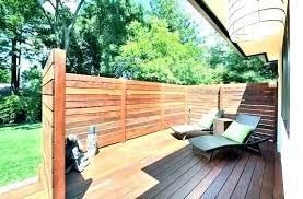 Ideas For Patio Privacy Austininterior Co