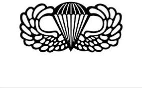 Amazon Com Airborne Jump Wings Vinyl Decal Car Window Bumper Sticker Army Paratrooper 5 Inch Dye Cut Decal Sticker For Bumpers Windows Cars Laptops Etc Automotive