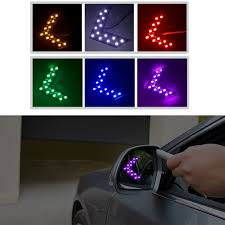 car mirror turn light car