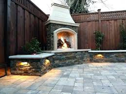 double sided outdoor patio stone