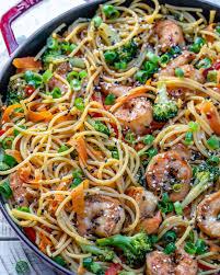 Easy Shrimp Stir Fry Noodles Recipe ...