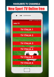 Italia TV Live - All free TV channels for Android - Download