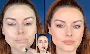 makeup artist shares lip plumping hack