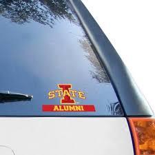 Iowa State Car Decals Iowa State Cyclones Bumper Stickers Decals Fanatics