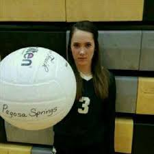 Addie Thompson High School Volleyball Stats Pagosa Springs (Pagosa ...