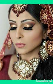 stani bridal eye makeup cat eye makeup