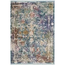 justine green beige purple area rug in