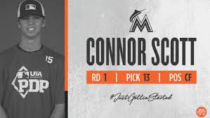 Marlins Select OF Connor Scott With 13th Pick In MLB Draft – CBS Miami