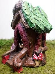 fairy garden treehouse miniature