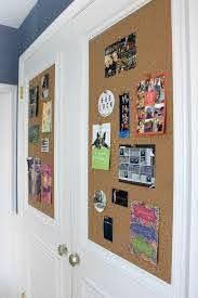 Cork Board Closet Doors Boring Flat Doors No More Driven By Decor