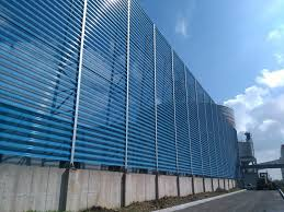 Thermal Power Plant Dust Suppression Wind Fence Manufacturer Green Technology