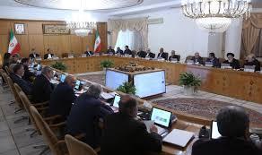 Image result for رئیس جمهور در جلسه پیگیری، هماهنگی و پشتیبانی اقدامات ملی برای مقابله با کرونا: