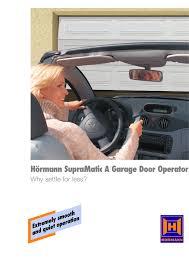 supramatic a garage door operator