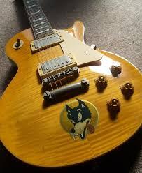 Wolf Jerry Garcia Grateful Dead Inlay Sticker For Guitars Bass