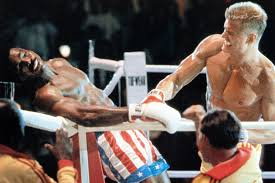 Rocky IV actors Dolph Lundgren and Carl Weathers reunite for a ...