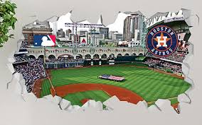 Boston Red Sox Fenway Park Smashed 3d Wall Decal Sticker Decor Vinyl Mural Op105
