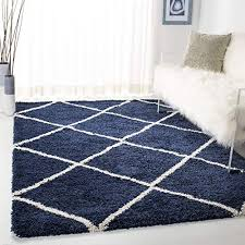 navy and white rugs com