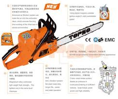 china topso brand chain saw for