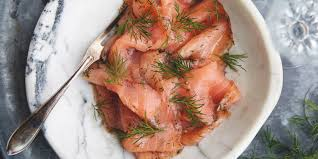 swedish cured salmon gravad lax