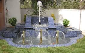 home gardens fountain designs ideas