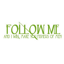 Follow Me I Will Make You Vinyl Decal Large Green Apple Walmart Com Walmart Com
