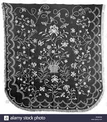 Bedcover - 1791/1800 - Attributed to Elizabeth Patterson Saltmarsh  (American, 1740-1816), Abigail Patterson (American, 1743/44-1808), Lydia  Patterson Stock Photo - Alamy