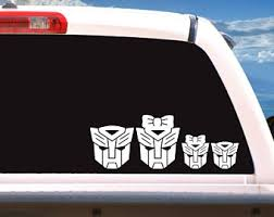 Autobot Decal Etsy