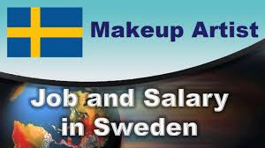 makeup artist salary in sweden jobs