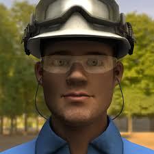 ArtStation - Construction Worker, Adam Sullivan