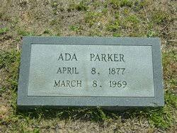 Ada Parker (1877-1969) - Find A Grave Memorial