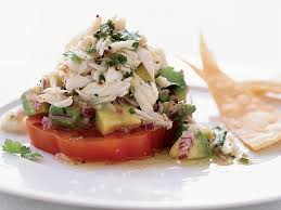 Chile-Lime Crab Salad with Tomato and ...