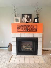huge fireplace surround with no mantel