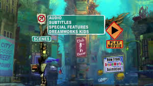 Shark Tale MENU DVD HD (2004) - YouTube