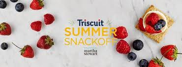 triscuit summer snackoff with martha