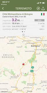 Terremoti: scossa magnitudo 3.2 tra Bologna e Pistoia ...