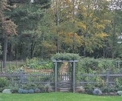 Natural Westchester Picket Fence Garden Enclosure Wood Solid Cellular Pvc Metal And Hollow Vinyl Fences From Walpole Outdoors