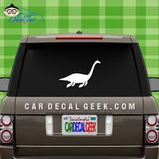 Plesiosaur Loch Ness Monster Vinyl Car Wall Decal Sticker