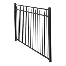 4 5 Ft H X 7 Ft W Handy Andy Metal Fence Panel Metal Fence Panels Steel Fence Panels Metal Fence