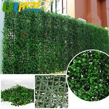Uland Artificial Hedging Faux Boxwood Greenery Panels 1 5 Sqm Privacy Fencing Screening Outdoor Rated Wreath Garden Decoration Artificial Hedge Garden Decorationprivacy Fence Aliexpress