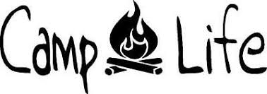 Camp Life With Campfire Vinyl Decal Sticker Camping 3 00 Picclick