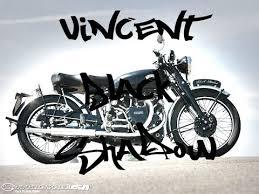 history of bike vincent black shadow