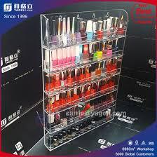wall mounted acrylic nail polish