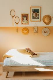 Peachwe Re Swooning Over This Warm Hue And The Inspired Effect Instilled By The Warm Tones Of The Sunlight Kids Bedroom Walls Bedroom Orange Orange Kids Rooms