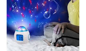 Up To 51 Off On Kids Room Digital Clock Music Groupon Goods