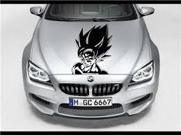 Goku Dragon Ball Z Hood Car Decal Race Sports Grpahic Art Sticker Truck Wrap B42 Ebay