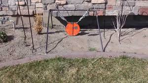 diy collapsible steel target stand for